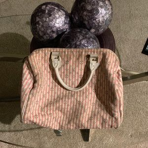 Authentic Louis Vuitton Croisette Mini Lin Speedy